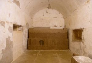 Внутренние помещения пирамиды Сенусерта III
