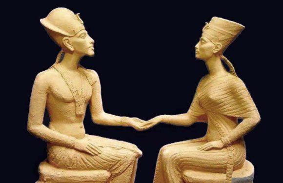 Клады города «проклятого фараона» Ахетатона