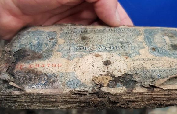Клад ценой в миллион фунтов стерлингов найден в любимом магазине жены Черчилля