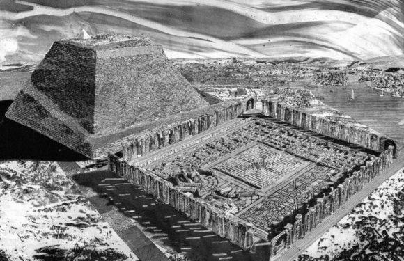 Храм-лабиринт Аменемхета III