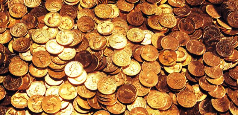 Во Франции обнаружили клад с золотыми монетами при сносе дома