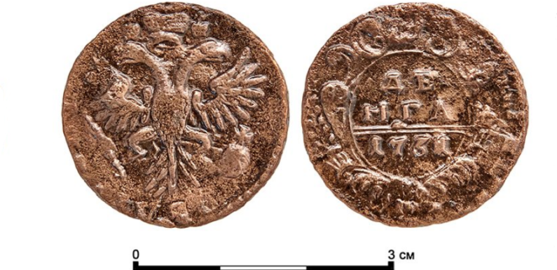 Археологи отыскали предметы быта москвичей XVII-XIX веков и старинные монеты