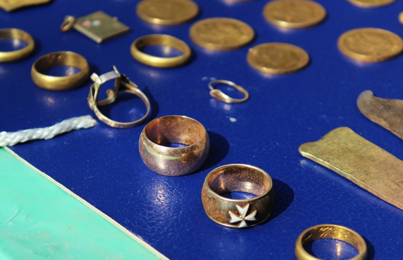 Стоимость обнаруженного в центре Гродно клада оценивается в 19,5 тыс долларов