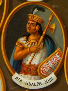 Император инков Атаульпа