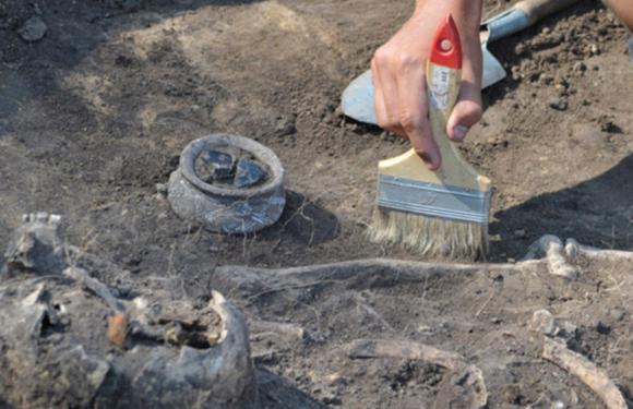В Оренбургской области найдено захоронение древних кочевников
