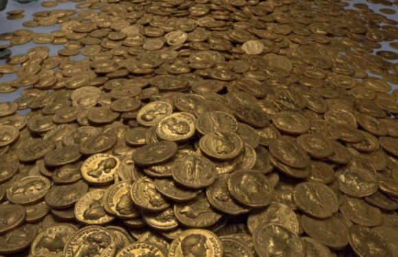 Клад Римской империи в городе Трир