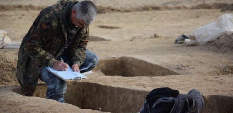 В Пскове найдено средневековое захоронение