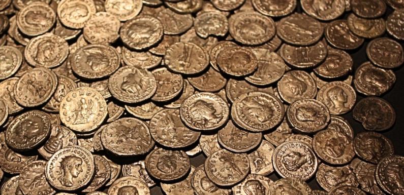 В древней цитадели Грузии найден клад из монет