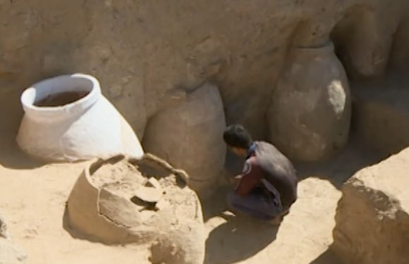 В Таджикистане обнаружен древний город