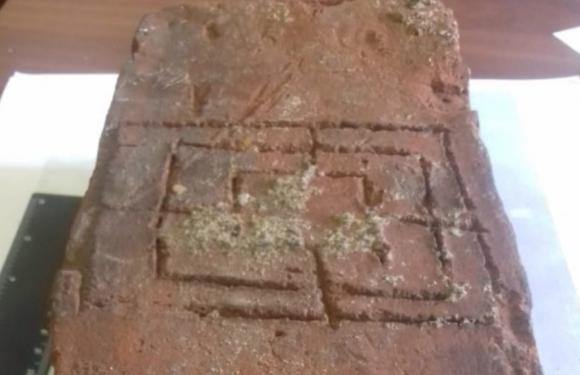 В Выборге найден кирпич со средневековой настольной игрой