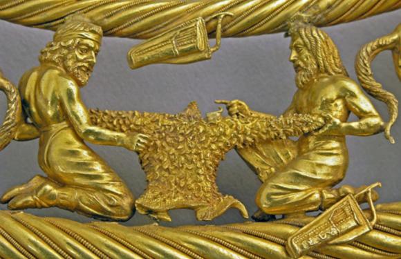 Сокровища кургана «Толстая могила»