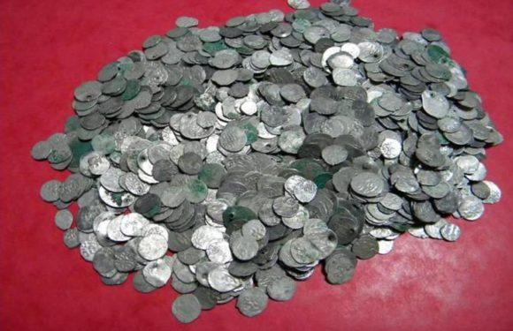 В Менхенгладбахе в поле найден клад древних монет