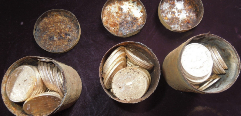 В Клайпеде обнаружили клад с монетами Пруссии