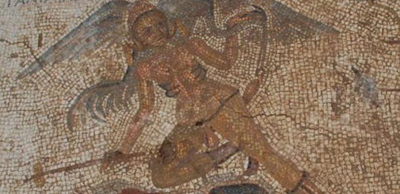 В Турции найдена древнеримская мозаика с пошлым сюжетом