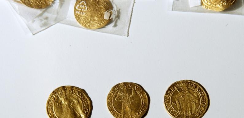 Любитель из Чехии обнаружил клад золотых монет