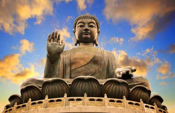 Сокровища Будды в храме Фамэнь