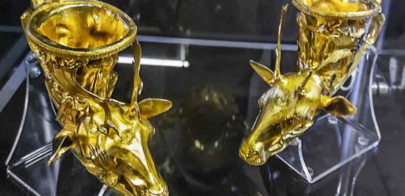 Золотые сокровища клада в Панагюриште