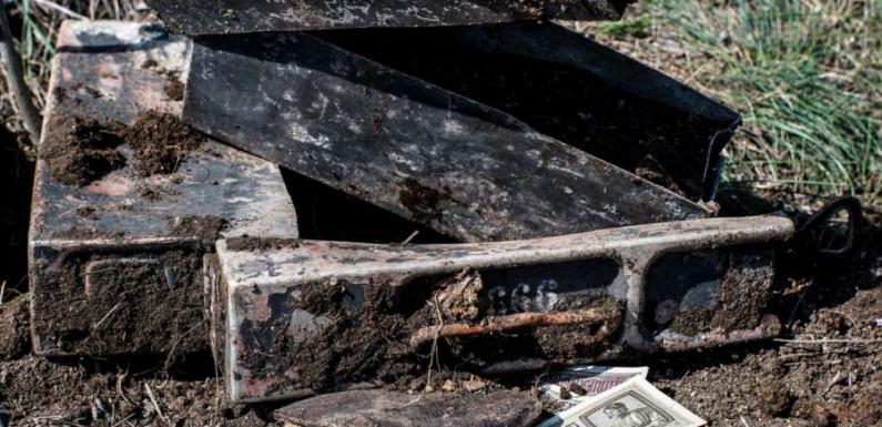В Ростовской области найден клад немецкого пулеметчика