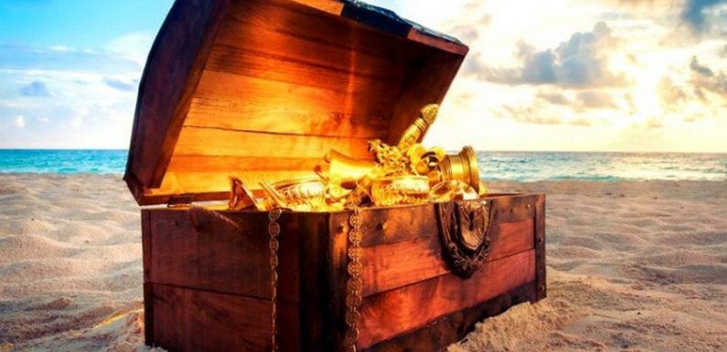 Сундук капитана Кидда с Оленьего острова
