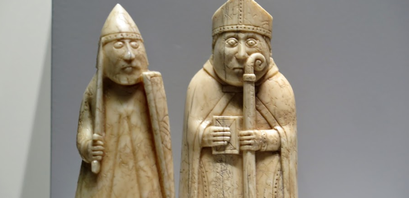 В Шотландии найдена фигура шахмат с острова Льюис ценой 1 млн фунтов