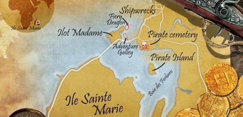 «Золотые» тайны острова Сент-Мари