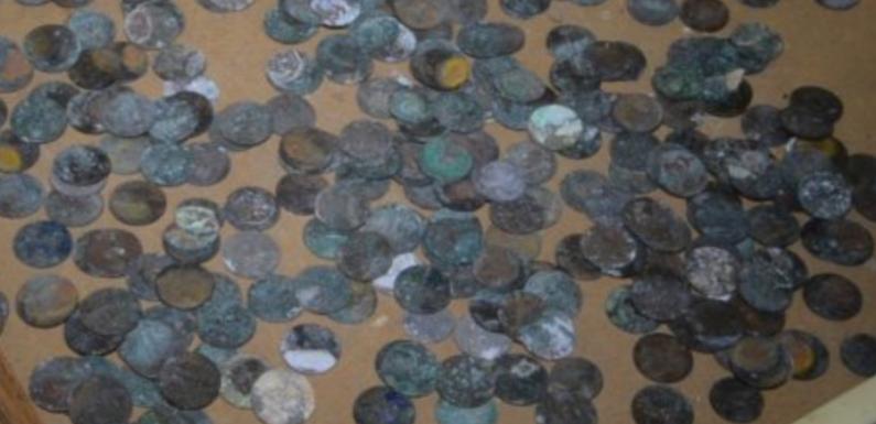 В тернопольском монастыре найден клад монет