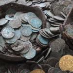 В Англии найден клад с монетами стоимостью 5 млн фунтов