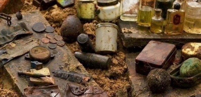 Под Питером найден тайник времен Второй мировой войны