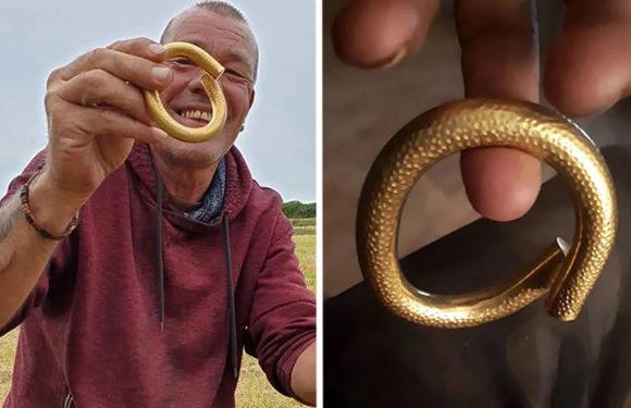 Житель Британии нашел в земле украшение возрастом 4 тысячи лет