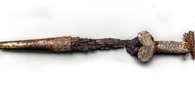 В Запорожье найдено захоронение скифского воина