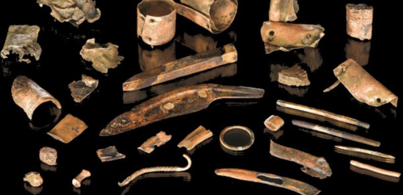 Немецкие археологи нашли вещи воина, участвовавшего в бою более 3 тысяч лет назад