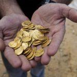 Жители Северной Ирландии нашли клад золотых монет