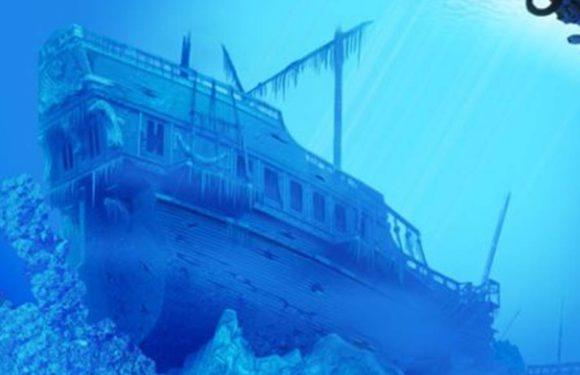 На пляже Флориды найден клад с затонувших испанских кораблей