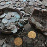 В Словакии найден клад старинных серебряных монет