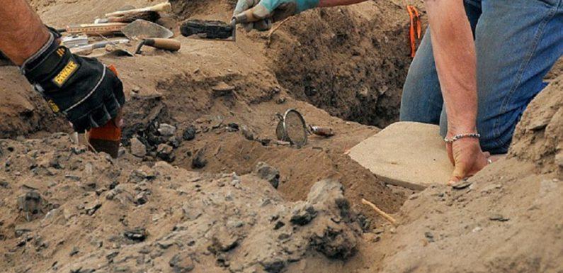 В Таджикистане найдена кушанская гробница с золотым кентавром