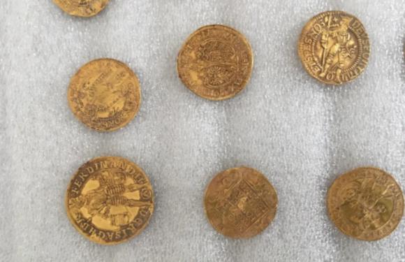 В Чехии нашли клад золотых монет времен Тридцатилетней войны