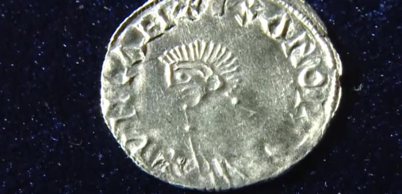 В Смоленске нашли редкую серебряную монету возрастом около тысячи лет