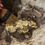 Клад с золотыми монетами IX века нашли в Израиле