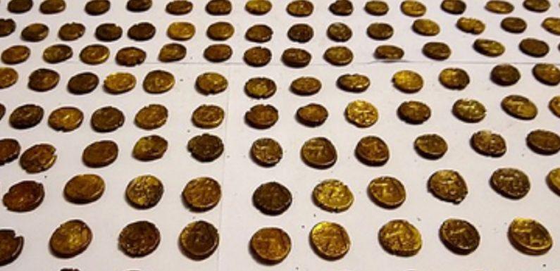 Британец наблюдал за птицами и нашел золотые монеты стоимостью миллионы рублей
