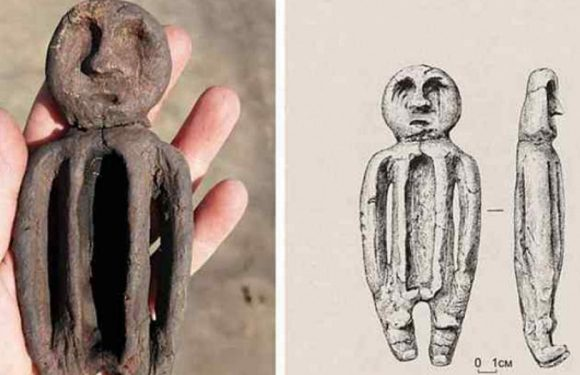Необычную статуэтку нашли археологи в Новосибирской области