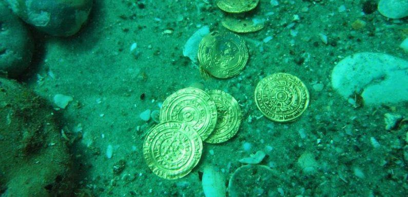 Испанские дайверы обнаружили клад времен Римской империи